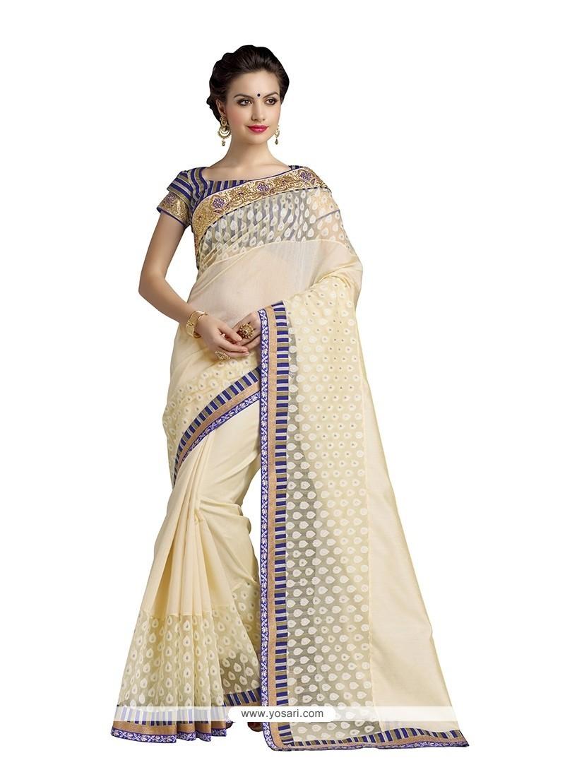 Vivid Banarasi Silk Designer Saree