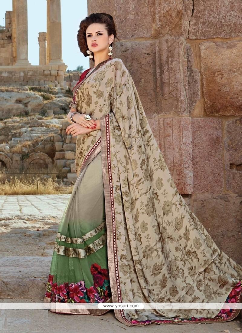 Glamorous Multi Colour Designer Saree