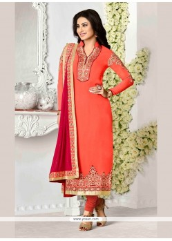 Elite Patch Border Work Georgette Designer Suit