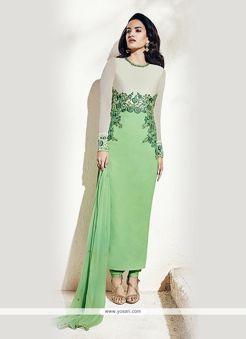 Stunning Green Designer Suit