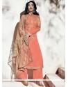 Mod Embroidered Work Georgette Designer Suit