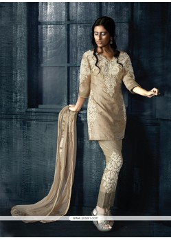 Prime Fancy Fabric Resham Work Designer Suit