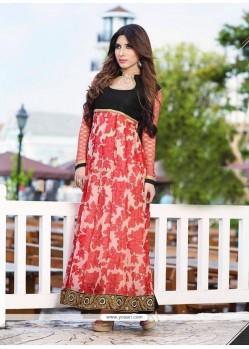 Glorious Multi Colour Anarkali Salwar Kameez