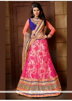 Sterling Hot Pink A Line Lehenga Choli