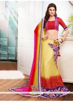 Tantalizing A Line Lehenga Choli For Wedding