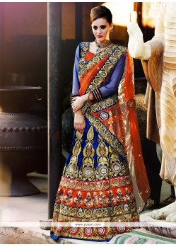 Perfect Multi Colour A Line Lehenga Choli