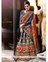 Perfect Multi Colour A Line Lehenga Choli