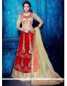 Charming Embroidered Work A Line Lehenga Choli