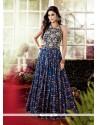 Trendy Cotton Multi Colour Designer Gown