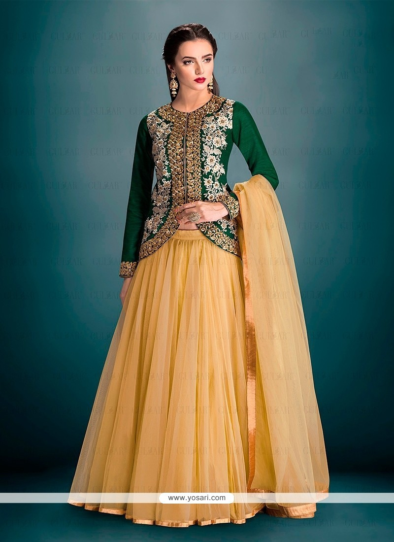 Zesty Banglori Silk A Line Lehenga Choli
