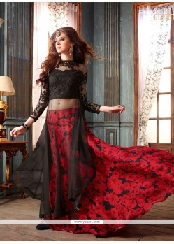Black Embroidered Work Designer Lehenga Choli
