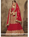 Latest Velvet Patch Border Work A Line Lehenga Choli
