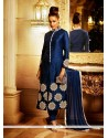 Miraculous Embroidered Work Churidar Designer Suit