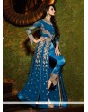 Malaika Arora Khan Georgette Embroidered Work Designer Suit