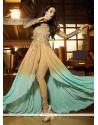 Malaika Arora Khan Resham Work Designer Suit