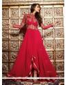 Malaika Arora Khan Red Designer Suit