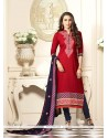 Karishma Kapoor Embroidered Work Churidar Designer Suit