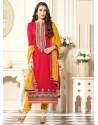 Karishma Kapoor Cotton Churidar Designer Suit