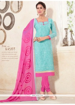 Modernistic Cotton Churidar Designer Suit