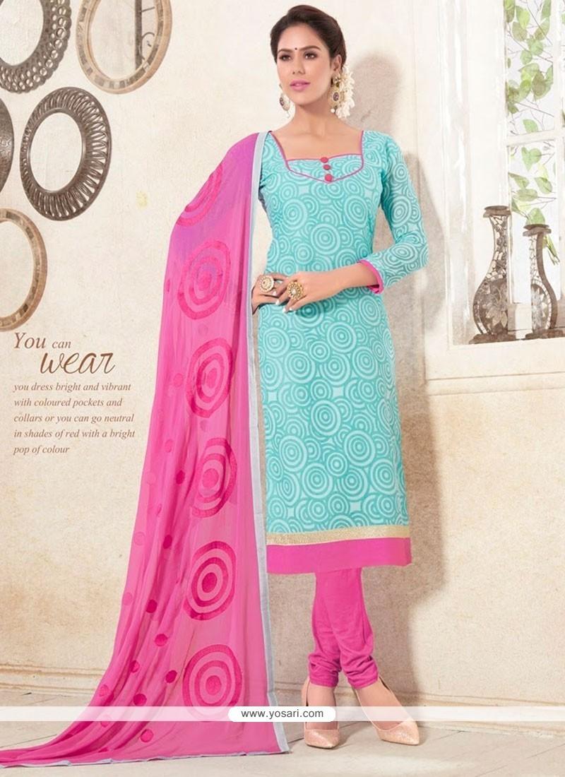 Modernistic Cotton Churidar Designer Suit