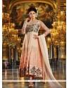 Luxurious Embroidered Work Anarkali Salwar Kameez