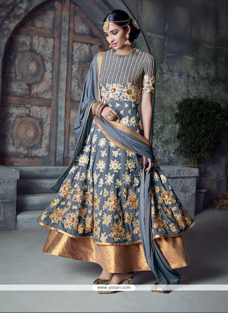 Tiptop Georgette Anarkali Salwar Kameez