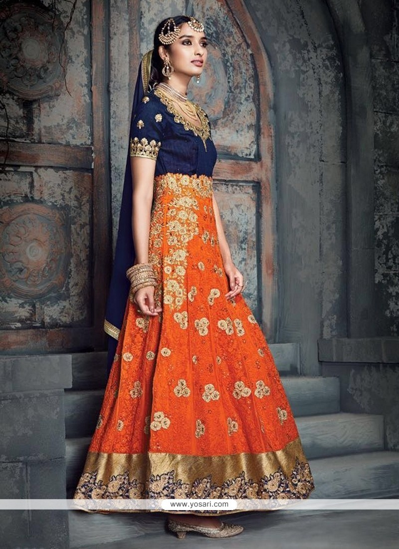 Voluptuous Georgette Anarkali Salwar Kameez