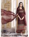 Karishma Kapoor Brown Designer Suit