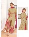 Princely Resham Work Beige Designer Suit