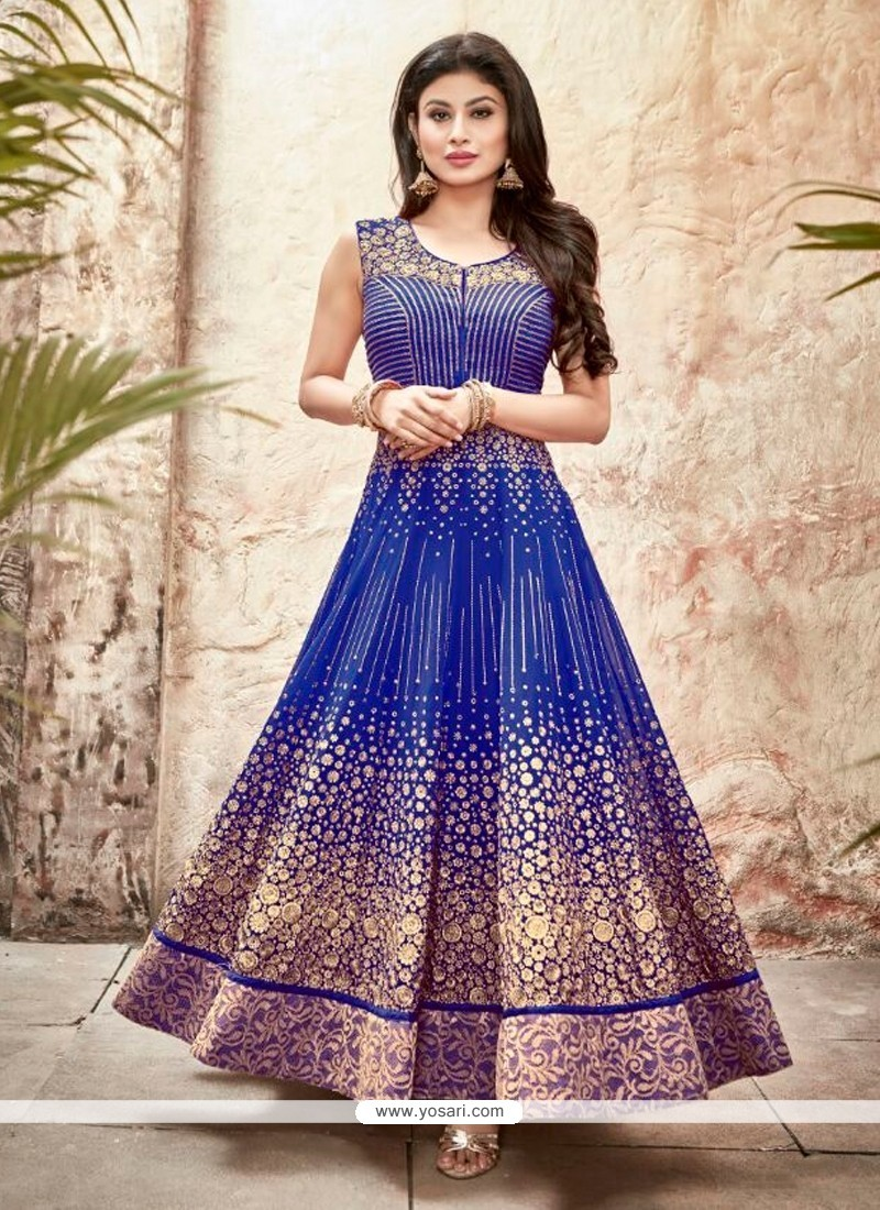 Pristine Georgette Patch Border Work Designer Suit