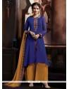 Striking Blue Designer Pakistani Suit