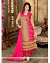 Perfect Embroidered Work Georgette Designer Suit