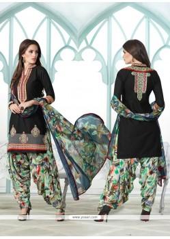 Divine Cotton Designer Suit