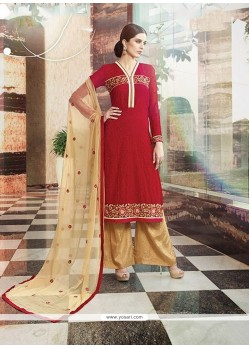 Stylish Embroidered Work Designer Suit