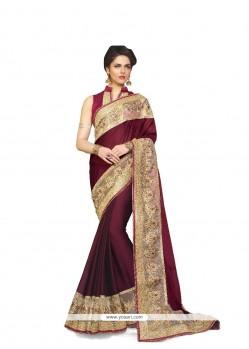 Innovative Satin Classic Designer Saree