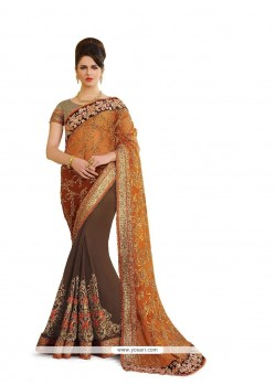 Remarkable Georgette Classic Designer Saree