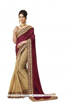 Dashing Georgette Embroidered Work Classic Designer Saree