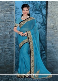 Titillating Satin Classic Designer Saree