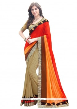 Specialised Multi Colour Designer Saree