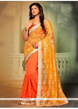Pleasing Designer Saree For Festival