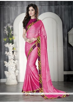 Wonderous Faux Chiffon Casual Saree