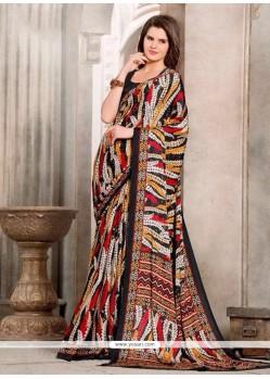Majesty Multi Colour Casual Saree