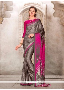 Savory Multi Colour Casual Saree