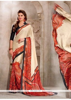 Enthralling Georgette Casual Saree