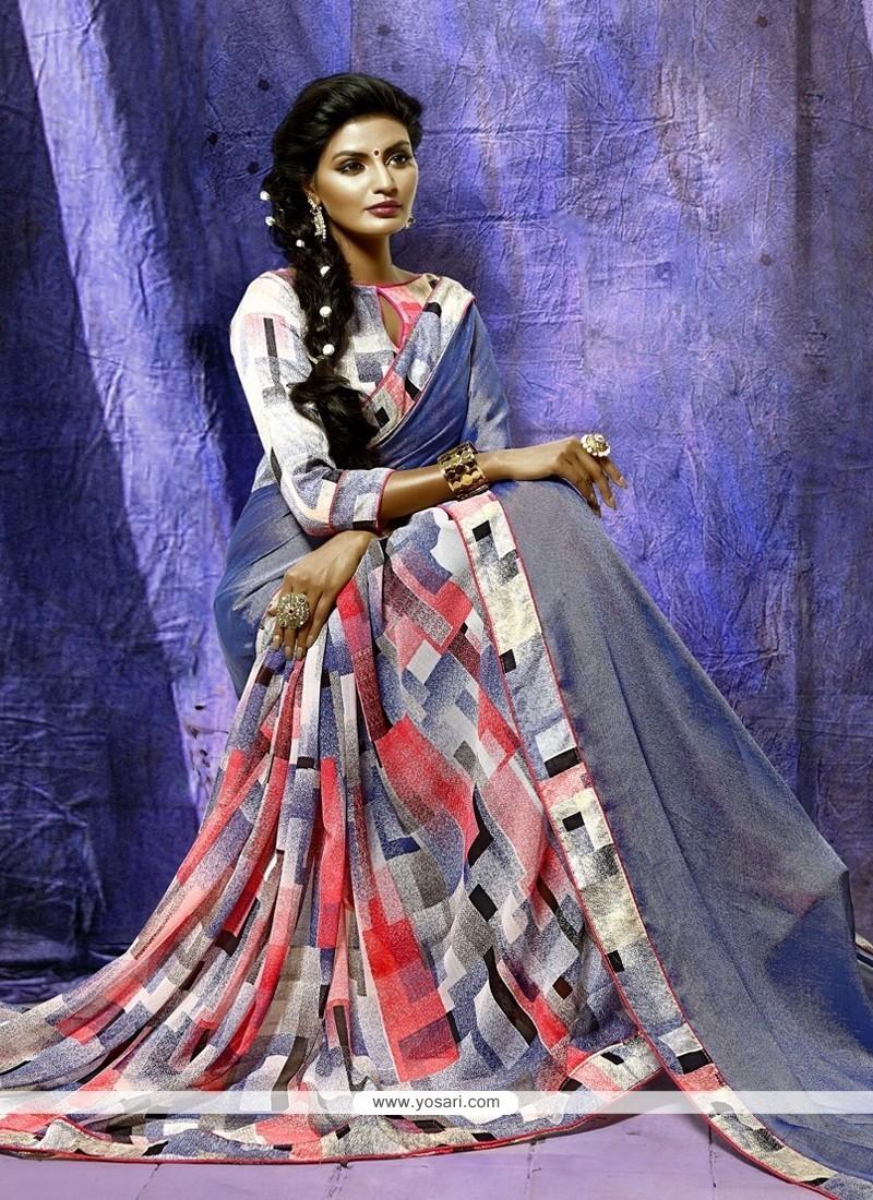 Lively Silk Casual Saree