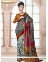 Enchanting Georgette Multi Colour Casual Saree