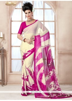 Incredible Georgette Casual Saree