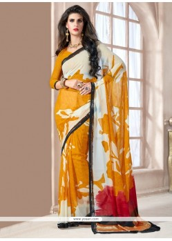Paramount Georgette Casual Saree