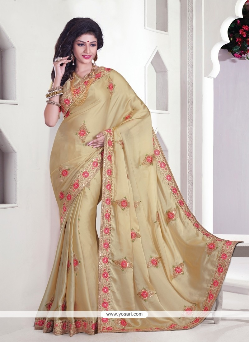 Peppy Satin Classic Designer Saree