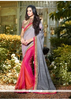 Irresistible Brasso Multi Colour Classic Designer Saree